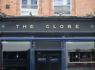 File image of The Globe bar on George's Street in Dublin.
