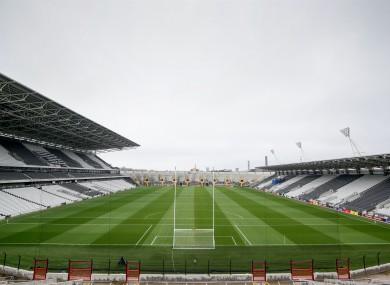 Páirc Uí Chaoimh before the Munster semi-final last weekend.