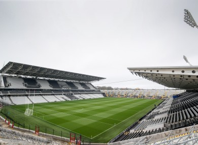 Páirc Uí Chaoimh will host the meeting of Clare and Waterford.