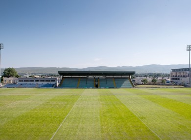 Austin Stack Park hosted the meeting of Kerry and Carlow today.