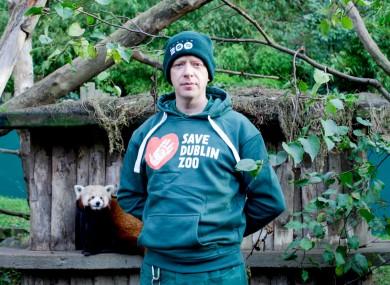 Zookeeker Brendan Walsh.