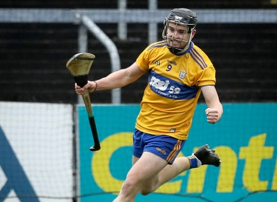 Tony Kelly was Clare's star against Wexford last Saturday.