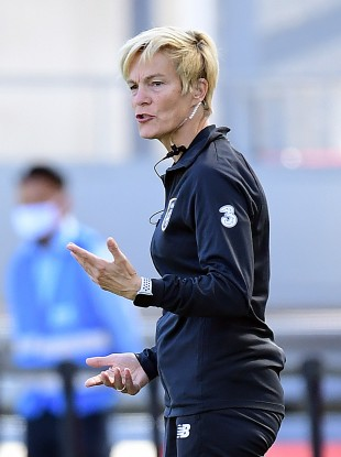 Republic of Ireland senior women's manager Vera Pauw.