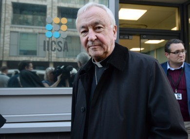 Cardinal Vincent Nichols said he will not resign despite the IICSA findings
