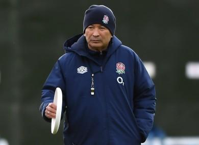 England head coach Eddie Jones (file pic).