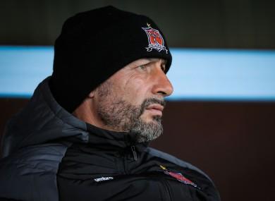 Dundalk manager Filippo Giovagnoli.