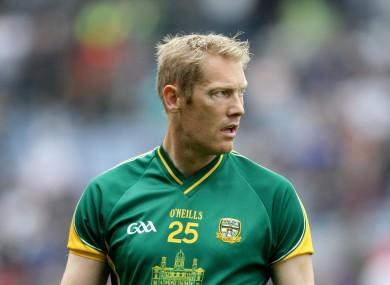 Meath All-Ireland winner Graham Geraghty.