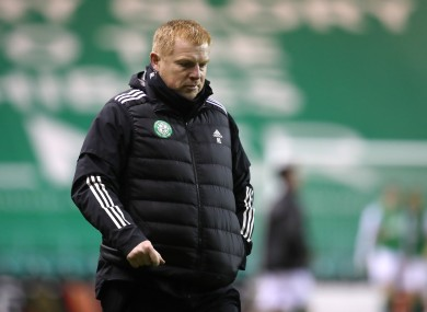 Celtic manager Neil Lennon (file pic).