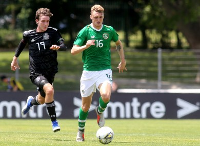 Jack Taylor has earned a promotion to the Irish senior squad.