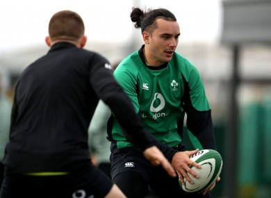 James Lowe is set for his Ireland debut this month.