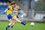 Roscommon midfield star Jenny Higgins.
