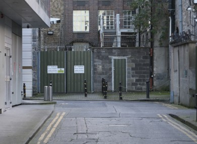 Leinster Lane in Dublin city where one of the men was sadly found dead.