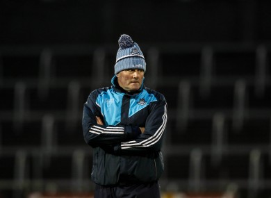 Dublin ladies manager Mick Bohan.