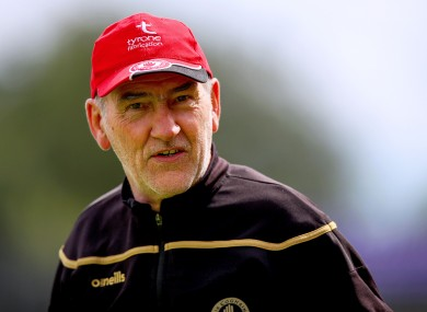 Former Tyrone manager Mickey Harte will be plying his trade in Division 4 in 2021.