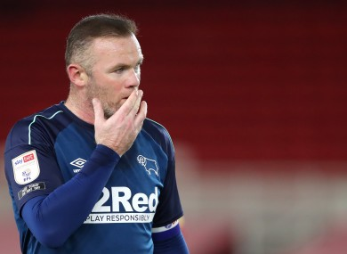 Wayne Rooney is expected to take a step back from playing duties.