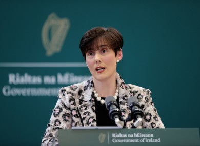 Minister for Education, Norma Foley.