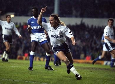 Tottenham Hotspur's Paul Walsh (file pic).