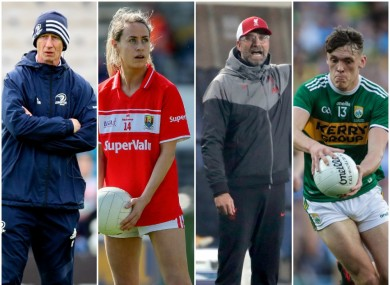 Leinster, Cork, Liverpool and Kerry are all in the TV spotlight this weekend.