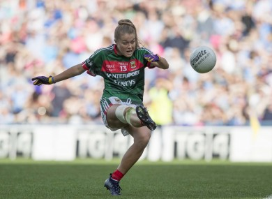 Sarah Rowe was in top form for Mayo today.