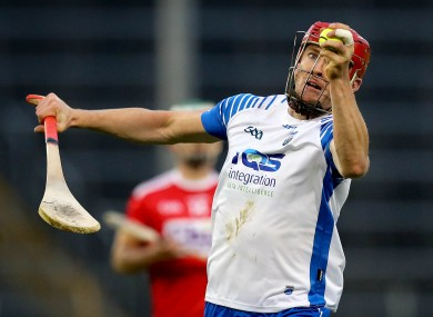 Tadhg De Búrca in action for Waterford against Cork.