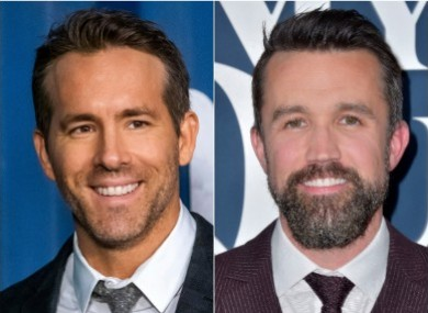 Ryan Reynolds and Rob McElhenney.