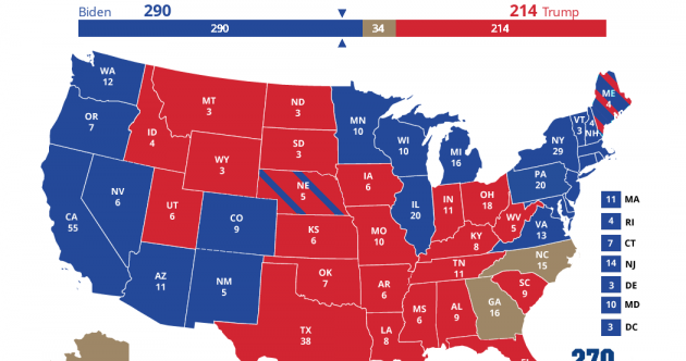Filling up: Here's the state-by-state guide of who's taken where