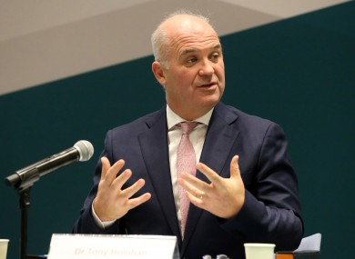 Chief Medical Officer Dr Tony Holohan (file photo)