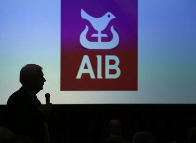 People asking questions at the AIB Annual Financial Report 2018