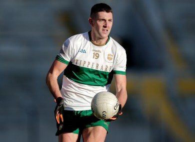 Colin O'Riordan is in from the start once again.