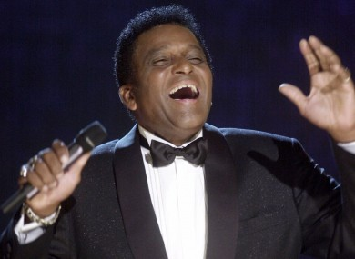 File image from 2000 of Charley Pride performing in Nashville, Tennessee.
