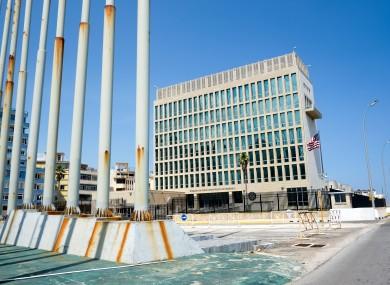 The US Embassy in Havana (file photo)