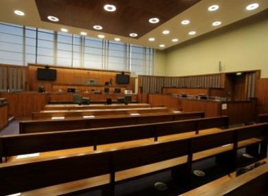 File image of empty courtroom.