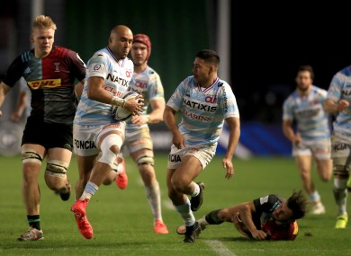 Simon Zebo escapes for a try.