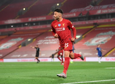 Liverpool's Alex Oxlade-Chamberlain (file pic).