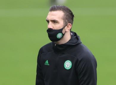 On-loan Celtic defender Shane Duffy.