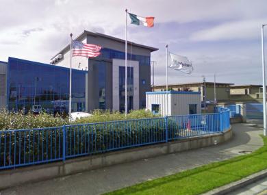 The plant in Baldoyle, Co Dublin.