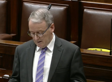 Laois-Offaly TD Brian Stanley.