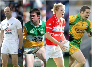 Earley, Pilkington, Corkery and Cassidy are some of the GAA legends profiled.