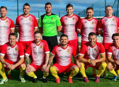 Kilnamanagh's first team.