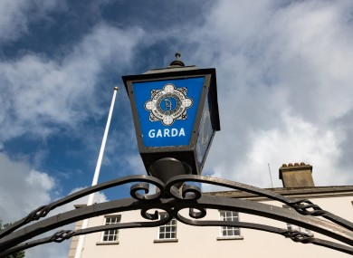 File image outside Garda station.