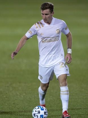 Jon Gallagher at Atlanta United.