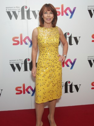 Kay Burley arrives at the Women in Film & TV Awards at the London.
