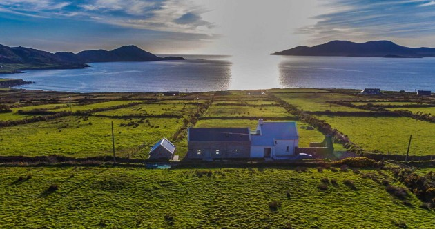 Wild Atlantic wonder: Light-filled home with ocean views in Kerry for €495k