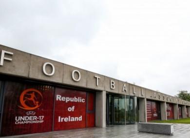 FAI HQ in Abbotstown, Dublin.