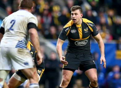 Macken playing for Wasps against his native Leinster in 2016.