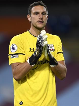 Southampton's Alex McCarthy.