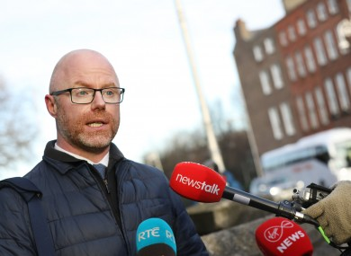 File photo. Health minister Stephen Donnelly