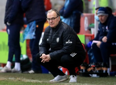 Bielsa was humiliated by Leeds' Cup loss.