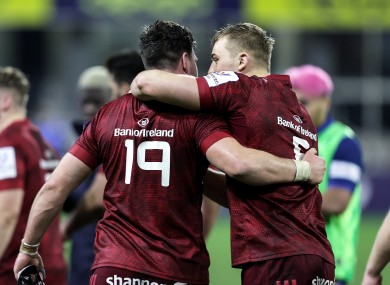 Munster are keen to build on their big win in France.
