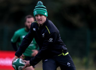 Ireland captain Johnny Sexton is 'hopeful' of being fit to face Wales next week.